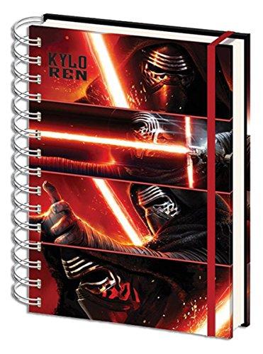 Star Wars sr71994Episode VII Kylo Ren Platten A4Notebook (Empire Pilot Episode)
