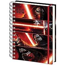 """Cuaderno de Notas Star Wars: Episodio VII - The Force Awakens/El Despertar de la Fuerza DIN A4 """"Kylo Ren"""""""