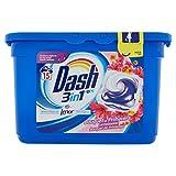 Dash Pods Waschmittel mit Duft Bouquet von Frühling, Hohe Reinigungskraft [2Packungen]