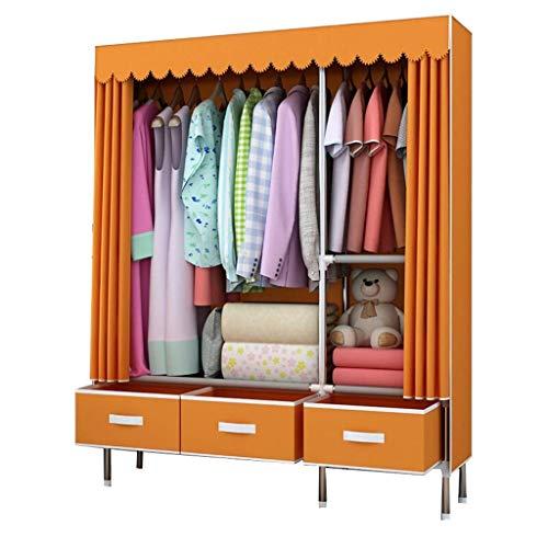 Kylincss Ortable Kleiderschrank Aufbewahrung Kleiderschrank Organizer Aufbewahrungsschrank mit...