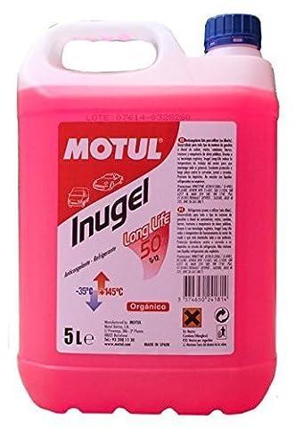 Liquide antigel INUGEL LONG LIFE 50% G12 (ROSA) 5L - Liquido Di Raffreddamento Fluidi