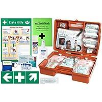 Erste-Hilfe-Koffer M5 PLUS für Betriebe DIN/EN 13157 & DIN/EN 13164 für KFZ - Komplett-Paket incl. Notfall-Beatmungshilfe... preisvergleich bei billige-tabletten.eu