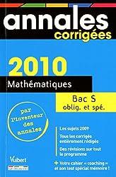 Mathématiques Bac série S 2010