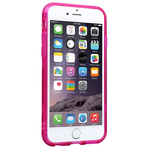WE LOVE CASE Coque iPhone 7, Coque de Protection en Premium Hard Plastique Mince Clair Dur Coque iPhone 7 Anti Choc Bumper, Anti-Rayures Anti-dérapante Coque Apple iPhone 7 Wildbell Fleur