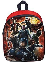 Preisvergleich für Marvel Avengers montiert Kinder Rucksack Tasche Griff Schule Rucksack Junior Jungen