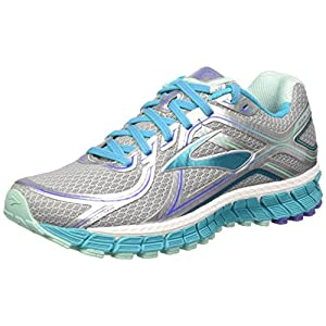 Brooks Adrenaline Gts 16 W - Zapatillas de Running Para Mujer, color Multicolor (Silver/Bluebird/Blue Tint), talla 39 EU