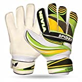 Nivia Spider Football Gk Gloves- Large ( Size 9- Age 15+)