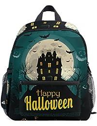 Preisvergleich für COOSUN Halloween Hintergrund Mini Kinderrucksack Pre-School Kindergarten Kleinkind-Tasche Mehrfarbig