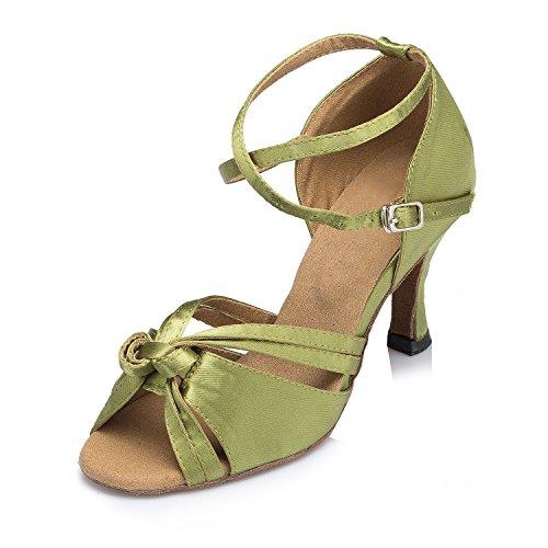 Miyoopark - Ballroom donna Green-7.5cm heel