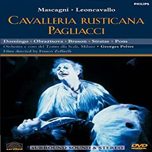 Mascagni: Cavalleria Rusticana / Leoncavallo: Pagliacci [DVD] [NTSC]