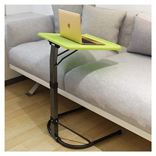 ELYSYSRL Couchtische Nachttisch Konsole Faltbar Heben Mobile Sofa Beistelltisch Einfach Kaffeetisch-Grün-16.93X16.93Zoll -