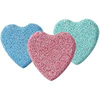 Healifty Heart Shaped Stone Hornhautentferner Doppelseitige Pediküre Fußfeile 3Pcs preisvergleich bei billige-tabletten.eu