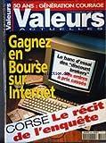valeurs actuelles no 3261 du 29 05 1999 50 ans generation courage gagnez en bourse sur internet corse le recit de l enquete