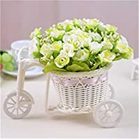 Rose di emulazione di fiori di seta