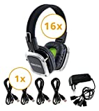 Beatfoxx SDH-300/16 Neonbright Silent Disco Set