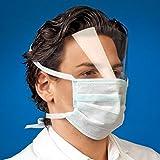 Bouche Protection avec visière/Pare-vue–Protection contre la pénétration de aérosols et des éclaboussures, qui dans vos yeux pourraient