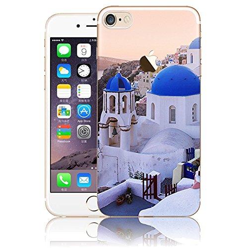 iPhone 5S SE silicone Coque,iPhone 5S SE TPU Coque Soft Case Cover,Vandot Paysage Creative Painting Peinture Housse de téléphone pour iPhone 5S SE Silicone modèle Cas pour iPhone 5S SE TPU Doux Silico ABC-19
