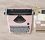 Machine à écrire Typecast Typewriter Pink We R Memory Keepers Rose
