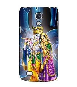 Fuson Designer Back Case Cover for Samsung Galaxy S4 I9500 :: Samsung I9500 Galaxy S4 :: Samsung I9505 Galaxy S4 :: Samsung Galaxy S4 Value Edition I9515 I9505G (Radha Krishna kanhaiya basuri fluet)