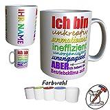 Tasse für den Arbeitskollegen/Arbeitskollegin/Geburtstagsgeschenk/Lustiges Geschenk/Spaß Geschenk/Kaffetasse/Kaffebecher/mit Name/personalisiert/personalisierbar