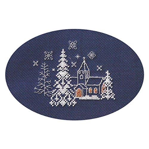 Derwentwater Designs Weihnachten Kreuzstich Card Kit–Let it Snow