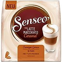 Senseo Latte Macchiato Caramel, 10 Pads für 5 Kaffee, 5er Pack (5 x 87 g)