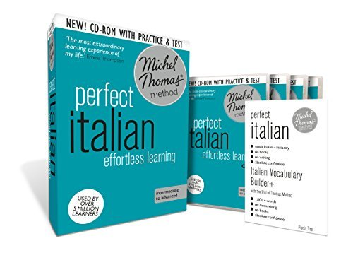 Perfect Italian: Revised (Learn Italian with the Michel Thomas Method) (A Hodder Education Publication) by Michel Thomas (2014-08-27)