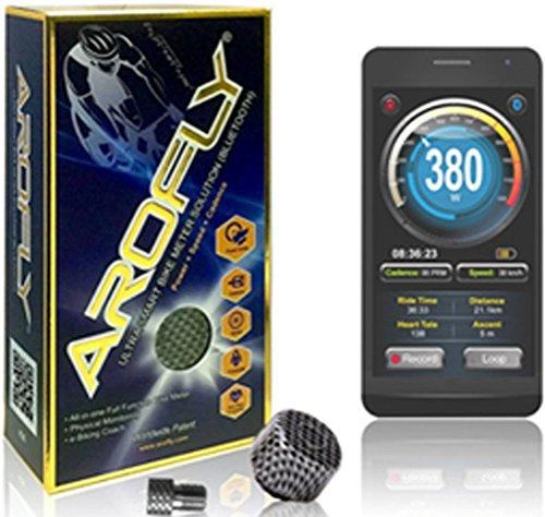 arofly Medidor de potencia bicicleta Velocidad y cadencia con Bluetooth Tecnología