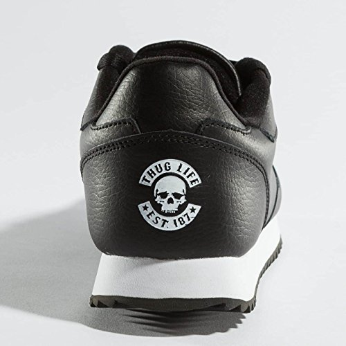 Thug Life Uomo Scarpe/Sneaker 187 Nero