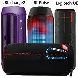 Tragbare schlanke Flip Reise Zipper Sleeve Schutztasche Tasche Box Case für JBL Pulse Flip 1 Charge2 Ultimate Ears BOOM Bluetooth Lautsprecher