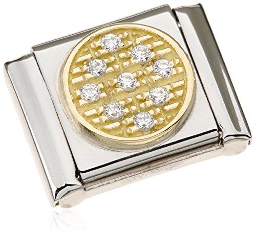 Nomination - 032320-01, Charm e ciondolo per bracciale  in acciaio inossidabile, donna, bianco