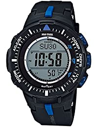 Casio PRG-300-1A2ER - Reloj (Reloj de pulsera, Resina, Negro, Resina, Negro, Mineral)