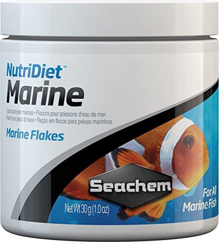 SEACHEM NUTRIDIET MARINE FLAKES 15 G MANGIME IN FIOCCHI PESCI MARINI ACQUARIO