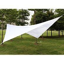 Yahee 4 x 4 m Vela parasole impermeabile protezione uv solare quadrata Tenda a vela per gioco bambino