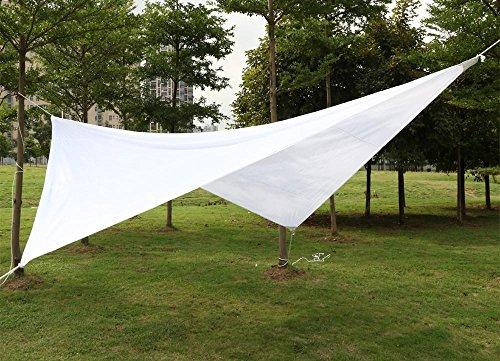 Tende a vela per terrazzi grandi sconti tende for Tenda a vela rettangolare