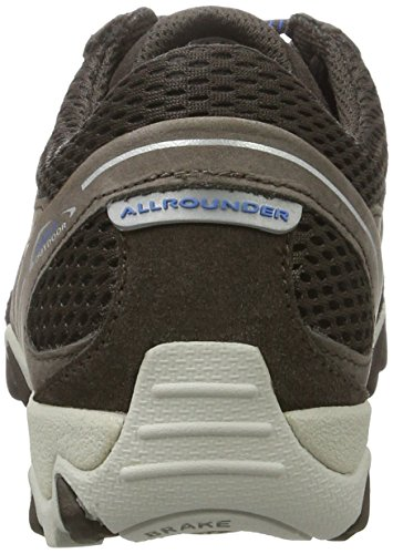Allrounder by Mephisto - Nanja, Scarpe sportive outdoor Donna Braun (LAVAGNA/LAVAGNA)