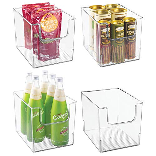 MDesign Juego 4 cajas almacenamiento alimentos - Organizador