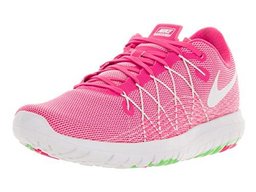 Nike Donna WMNS  Flex Fury 2 Scarpe Running Rosa (Rosa (Pink Blast / White-Elctrc Green))