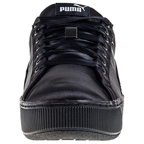 Puma Vikky Platform EP, Scarpe da Ginnastica Basse Donna Black