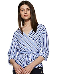 Krave Women Striped Regular fit Top