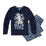 Disney Die Eiskönigin Elsa & Anna Jungen Pyjama - blau - 116