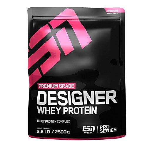2g Protein (ESN Designer Whey Protein, Vanilla, 2,5 kg)