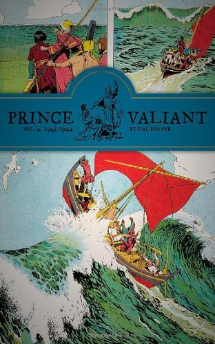 Prince Valiant Vol.4: 1943-1944 (Prince Valiant (Fantagraphics)) by Hal Foster Published by FANTAGRAPHICS (2011)