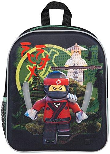 Lego Ninjago Film LED Rucksack Kai Ninjago Schultasche Rucksack mit Leuchtenden Schwertern