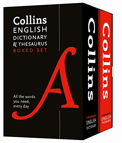 Collins English Dictionary and Thesaurus Boxed Set (Collins Dictionaries)