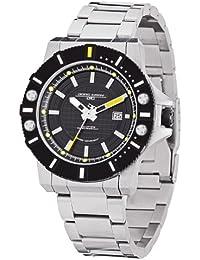 Jorg Gray Herren-Armbanduhr Analog edelstahl Silber JG9500-22