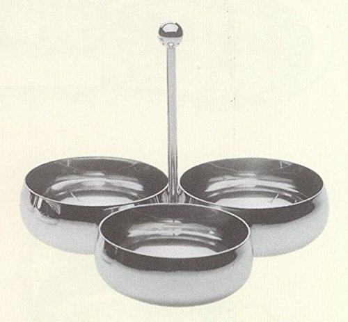 HORS D'OEUVRE SET SILVER PLATED - art. CG22420AG - Bre. 19 cm - Hoh. 19 cm - SWEET HOME by Varotto & Co. Hors Doeuvre-set