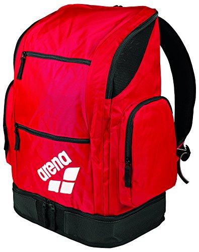 Arena Spiky 2 Large, Borsa Sportiva Unisex – Adulto, Black Team, Taglia Unica Red Team
