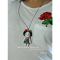 "Muñeca de Trapo - Boninga Dolls: Frida Kahlo ""miniatura"" (6,5cm)"