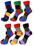 #5: CHRONAX Ankle Length Multicolor Sports Socks